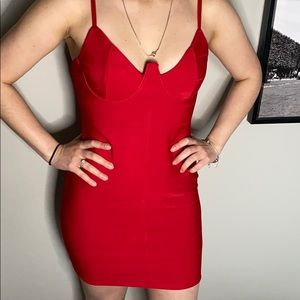 Fashion Nova Red Dress